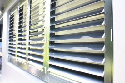 Image of a high quality aluminium shutters