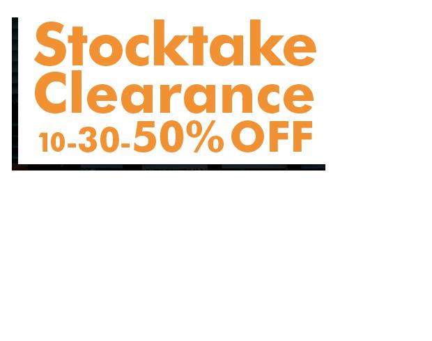 Stocktake Clearance