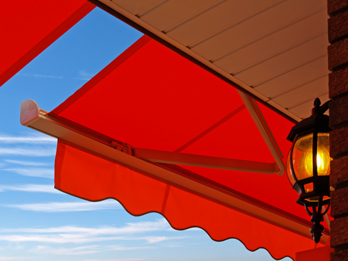 a picture of retractable awnings in Sydney by Shutters Australia