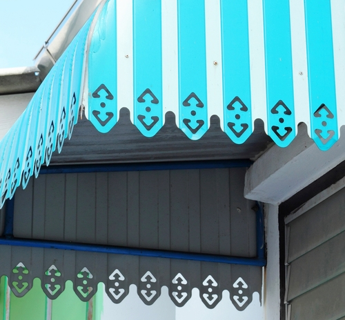 Door Awnings Image by Shutters Australia