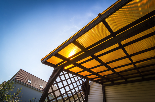 Image of a quality polycarbonate awning by Shutters Australia