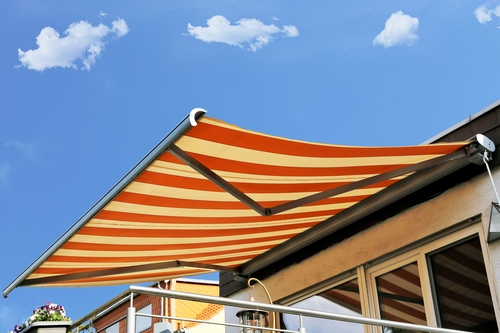 Image of a superior quality motorised awning