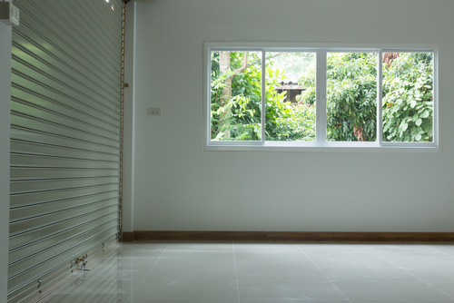Image of an aluminium shutters