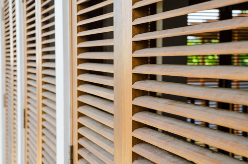 Image of a quality wooden shutters