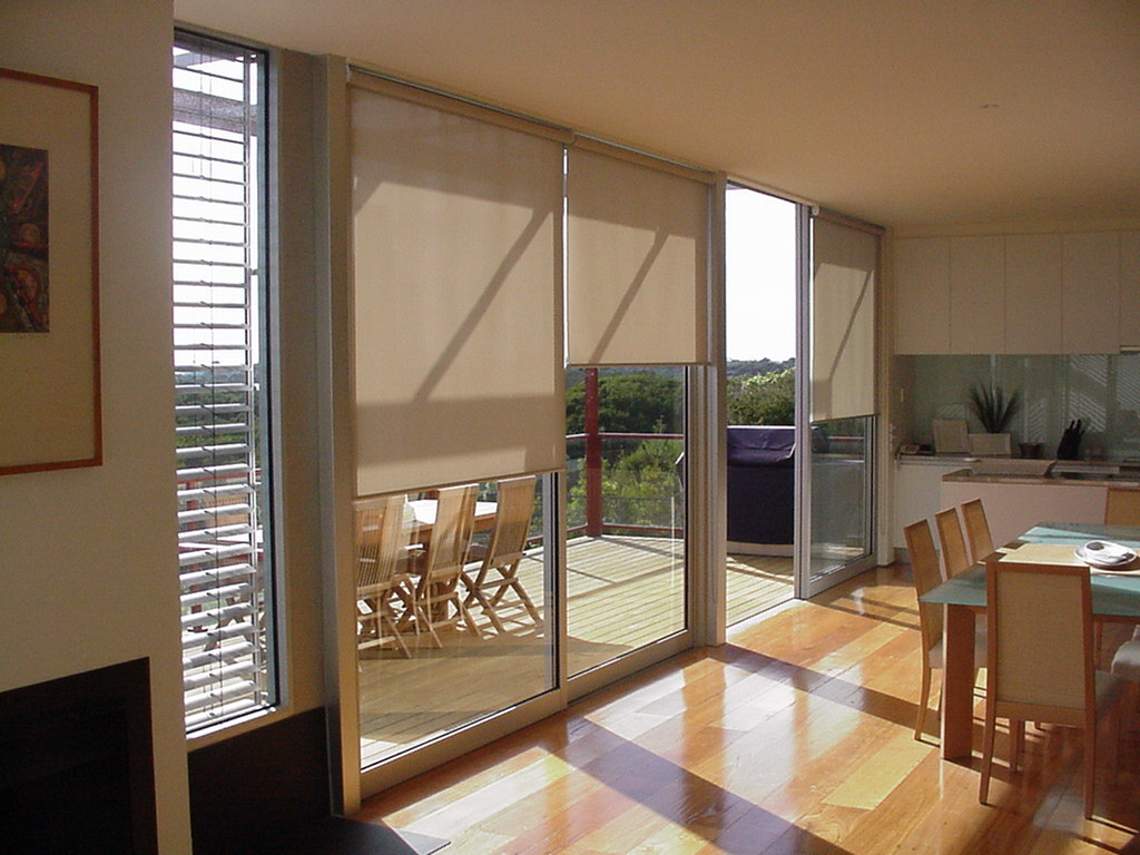 Image of a high quality roller blinds by Shutters Australia