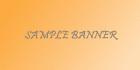 sample-banner