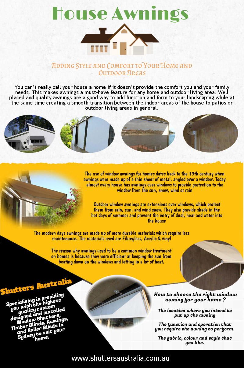 an infographic on shutters in Australia