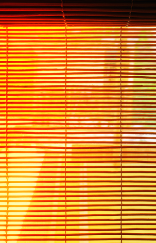 orange Shutters and Blinds
