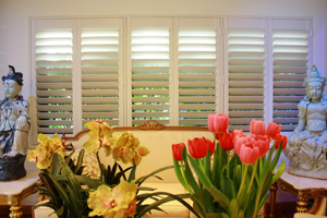 Image of an interior plantation shutters