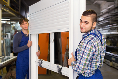 Image of tradesmen from reputable Window Shutter Companies