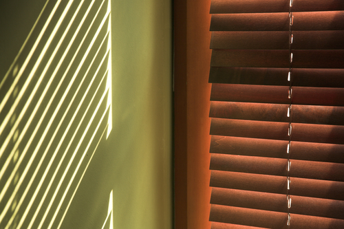 a set of Timber Venetian Blinds in Sydney