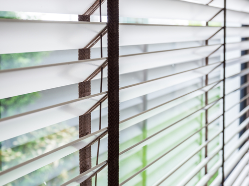 Image of a good set of timber Venetian blinds online by Shutters Australia