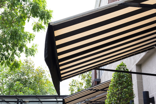 An Image of a fixed awning in Sydney by Shutters Australia