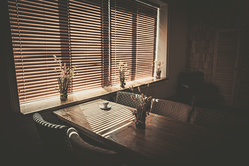 café Blinds, Image by Shutters Australia