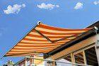 Image of a superior quality motorised awning