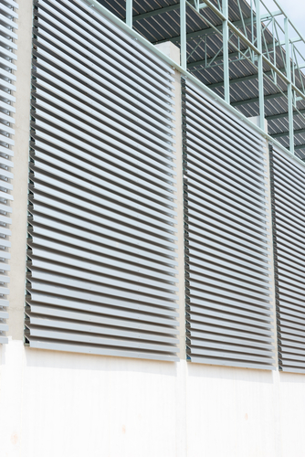 Image of a quality External Aluminium Louvres in Sydney