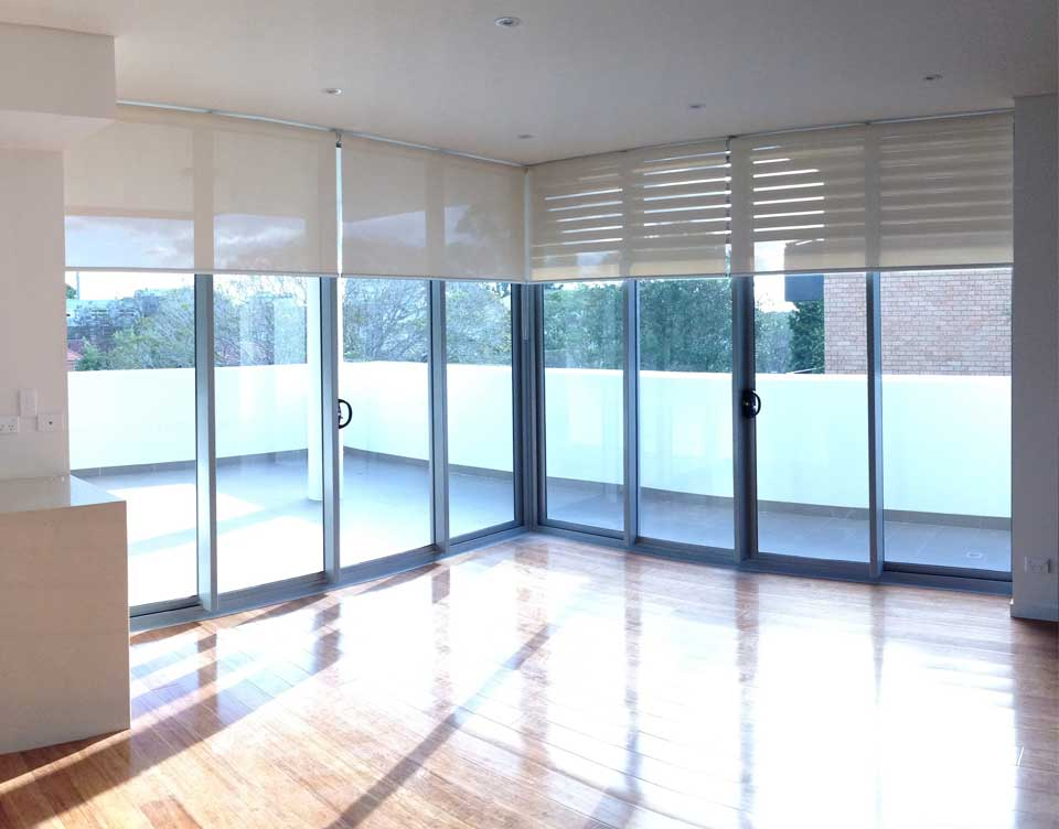 Image of installed plantation blinds in Sydney