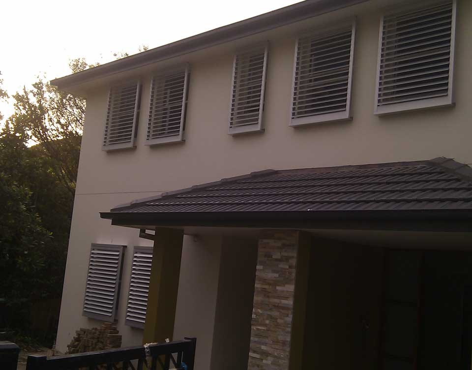 Image of an Aluminum Shutters in Sydney