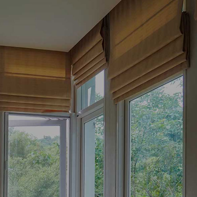 Indoor-Roman-Blinds