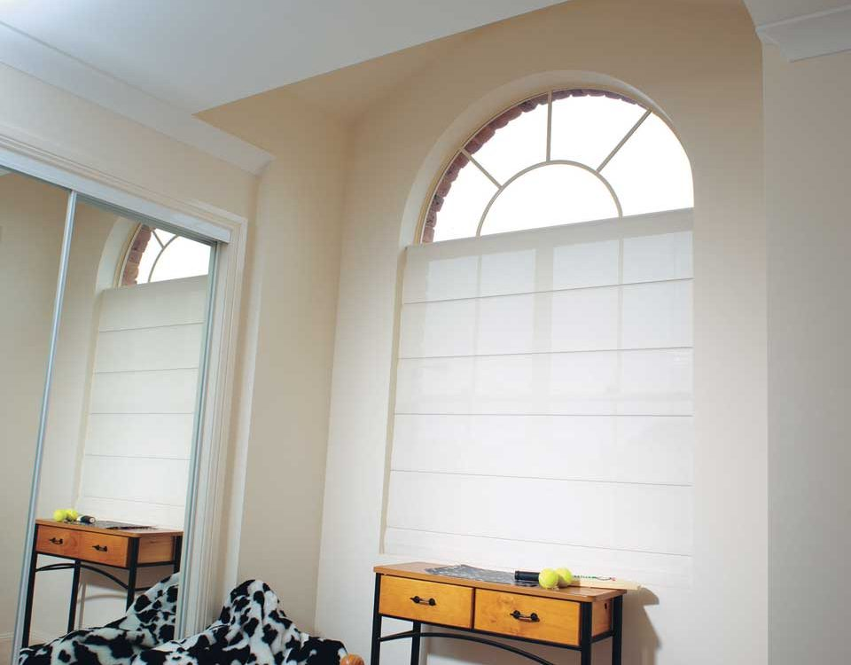 Image of a quality roman blinds by Shutters Australia