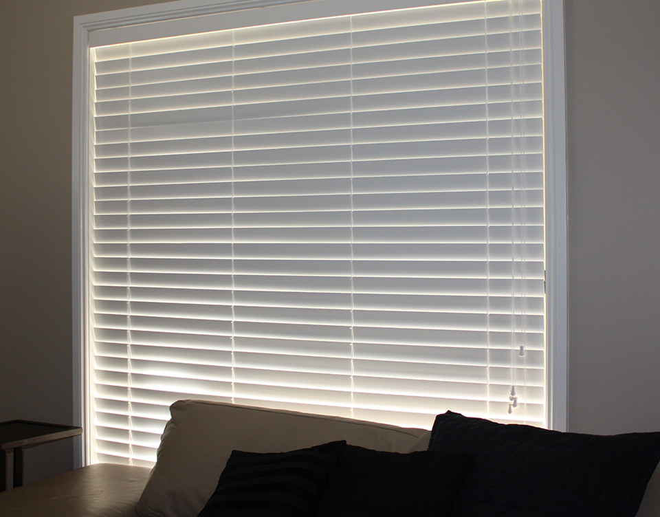 image of high quality roller blinds by Shutters Australia