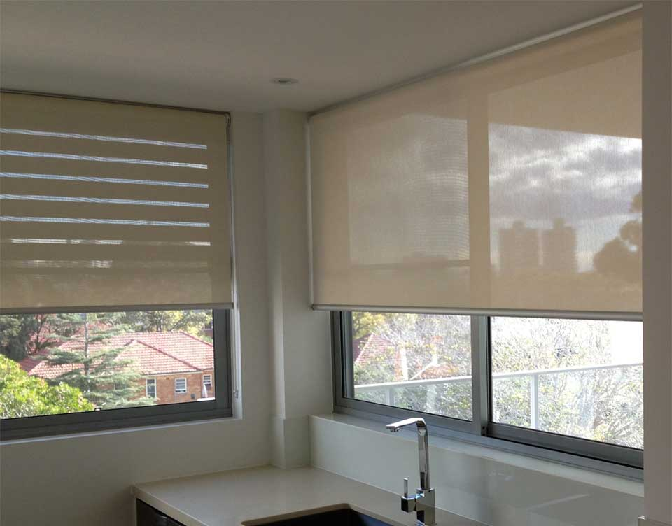 image of screen roller blinds by Shutters Australia