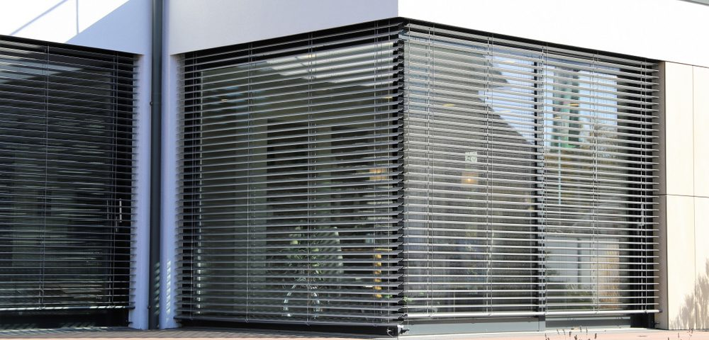 Image of a Window with modern blind